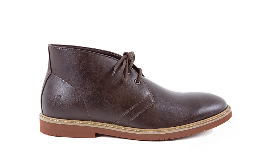 Vegan Desert Boot The Bush Boot by VEGETARIAN SHOES is an extremely popular model that has been in the range for years. It looks equally sporty and stylish.