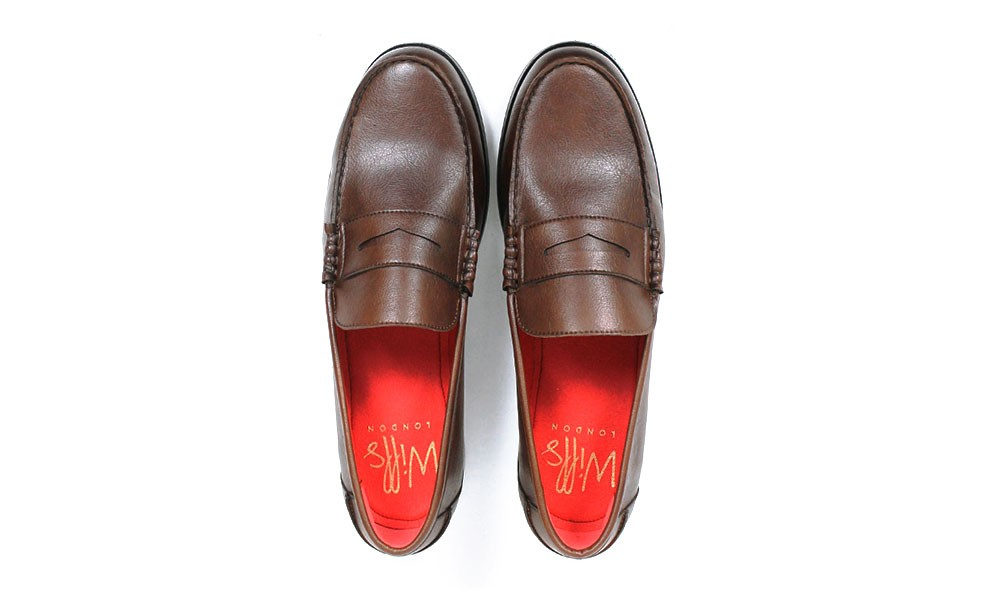 Vegan City Penny Chestnut Avesu Will's Shoes Loafer xpxwz