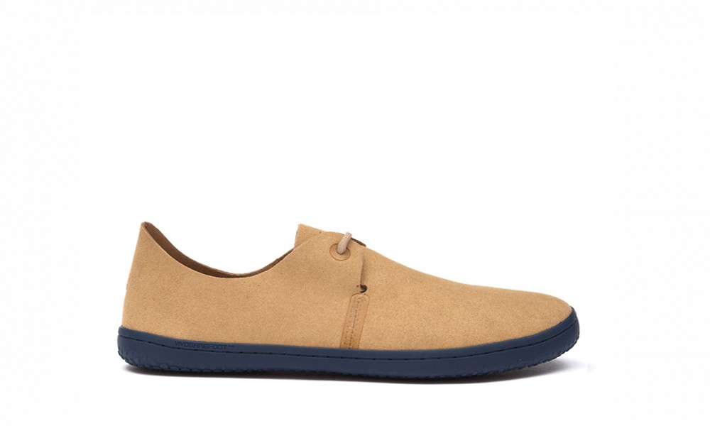 VIVOBAREFOOT Rif Men Eco Suede Tan