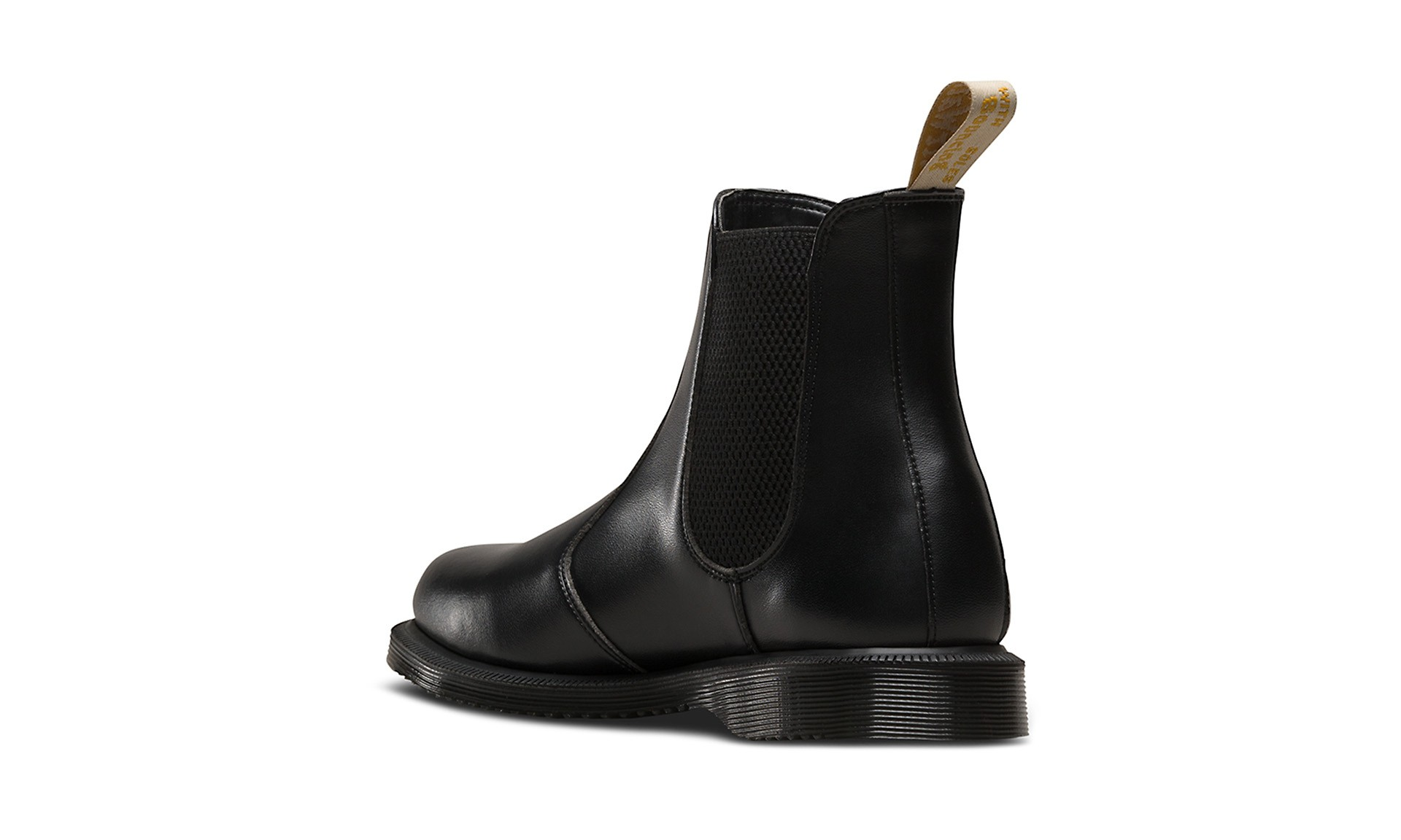 d65ade0af29 Vegan Chelsea Boot | DR. MARTENS Flora Chelsea Boot Black Felix Rub ...