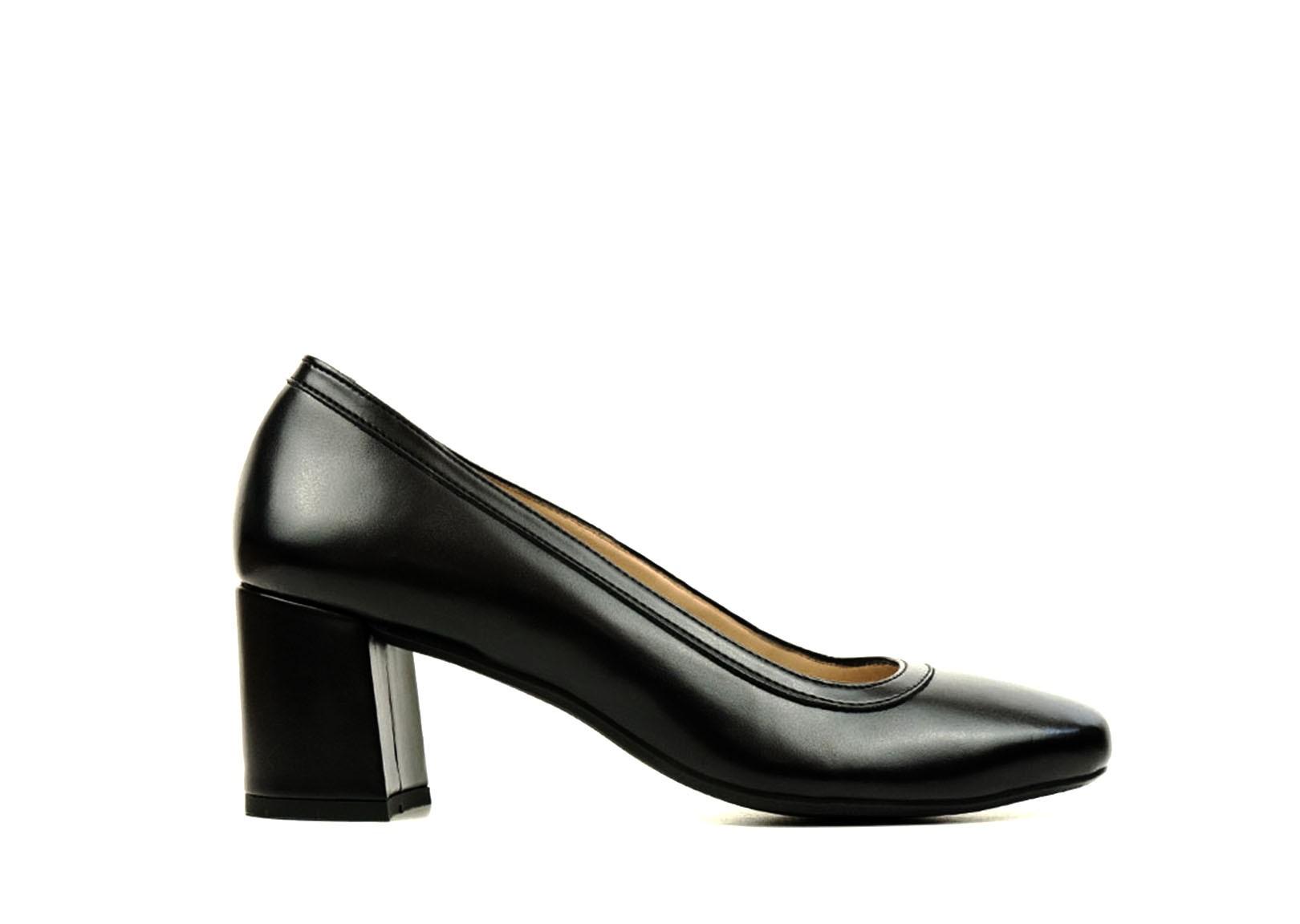 vegan black heels
