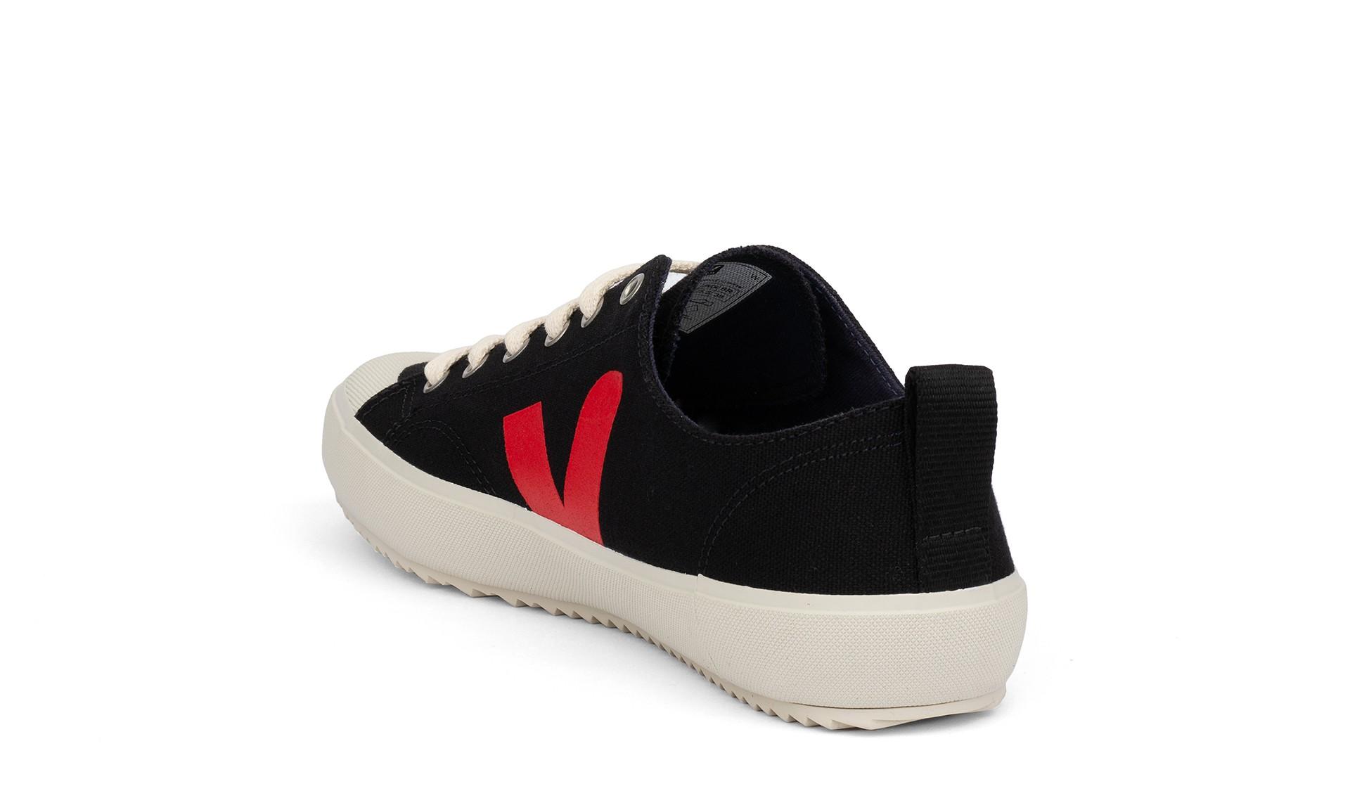 Vegan Sneaker   VEJA Nova Canvas Black