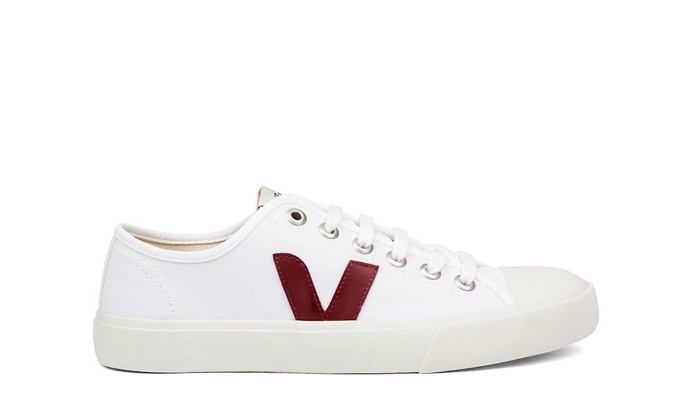 Vegan Sneaker | VEJA Wata Canvas White