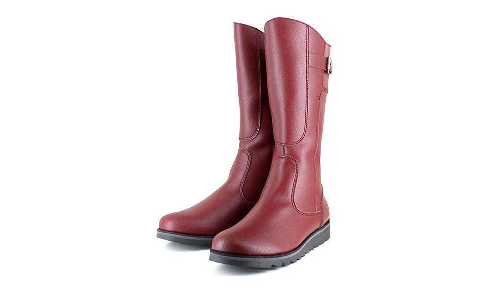 075bf801a72 Vegan Women's Boot | VEGETARIAN SHOES Action Boot 3 Cherry | avesu ...