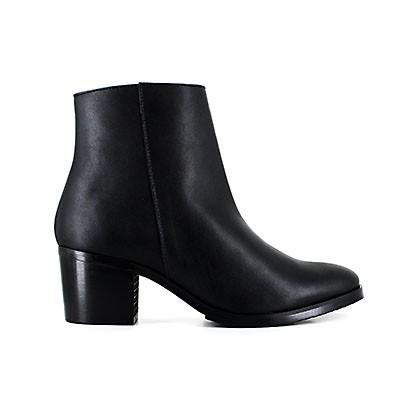Vegane Damenstiefelette   VEGETARIAN SHOES Amelia Boot Black