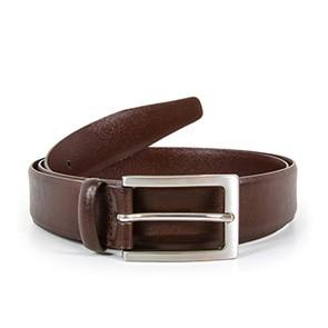 Veganer Gürtel | WILL'S VEGAN STORE Classic 3cm Belt Dark Brown