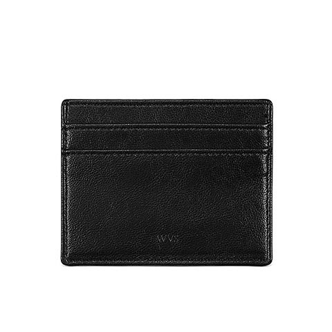 Veganer Kartenhalter | WILL'S VEGAN STORE Card Case Black