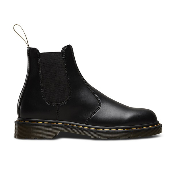Veganer Chelsea Boot | DR. MARTENS 2976 Chelsea Boot Black Felix Rub Off