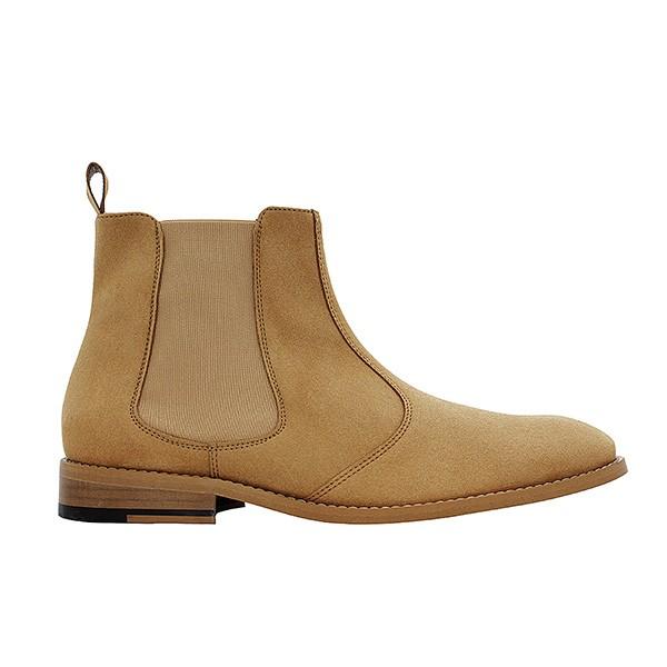 Veganer Chelsea Boot | FAIR Chelsea Boot Men Light Brown