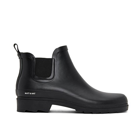 Veganer Chelsea Boot | MATT & NAT Lane Black