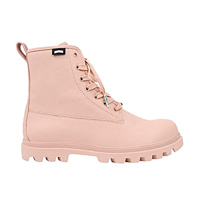 Veganer Schnürstiefel | NATIVE SHOES Johnny Treklite Chameleon Pink