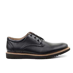 Veganer Derby | AHIMSA Charles Vegan Leather Black