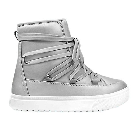 Veganer Moon Boot | NATIVE SHOES Chamonix Chamonix Silver Metallic