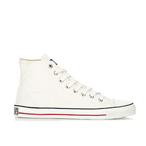 Veganer Sneaker | ETHLETIC Fair Trainer Hi Cut Just White