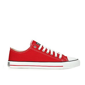 Veganer Sneaker | ETHLETIC Fair Trainer Lo Cut Cranberry Red