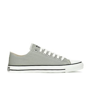 Veganer Sneaker | ETHLETIC Fair Trainer White Cap Lo Cut Urban Grey