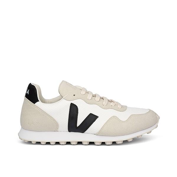 Veganer Sneaker | VEJA SDU HEXA B-Mesh Arctic Black