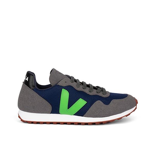 Veganer Sneaker | VEJA SDU REC B-Mesh Nautico Granny Black
