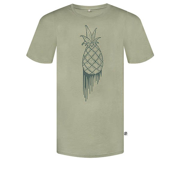 Veganes T-Shirt | BLEED T-Shirt Bloody Pineapple Olive