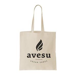 Vegane Tragetasche | AVESU Tote Bag avesu Logo Natural