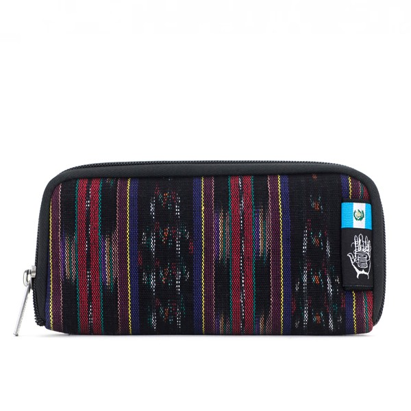 Vegane Brieftasche | ETHNOTEK Chiburi Accordion Wallet Guatemala 10