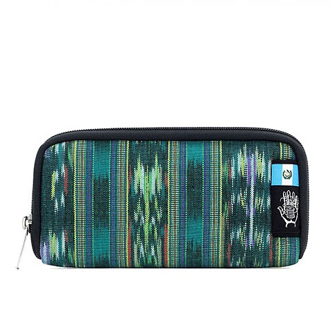 Vegane Brieftasche | ETHNOTEK Chiburi Accordion Wallet Guatemala 4
