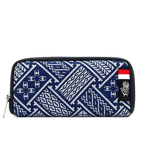 Vegane Brieftasche | ETHNOTEK Chiburi Accordion Wallet Indonesia 6