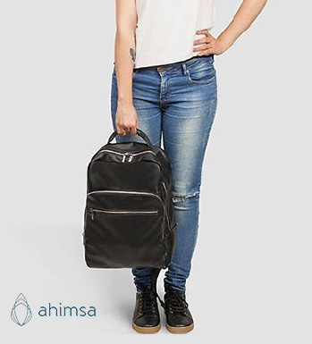 NEW COLLECTION | AHIMSA Vegan backpacks and walltets from Brazil