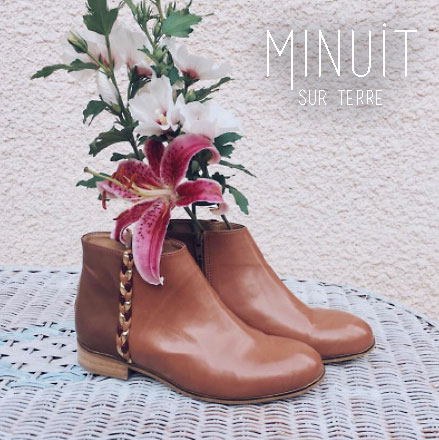 MINUIT SUR TERRE | New Brand! Vegan Shoes from France