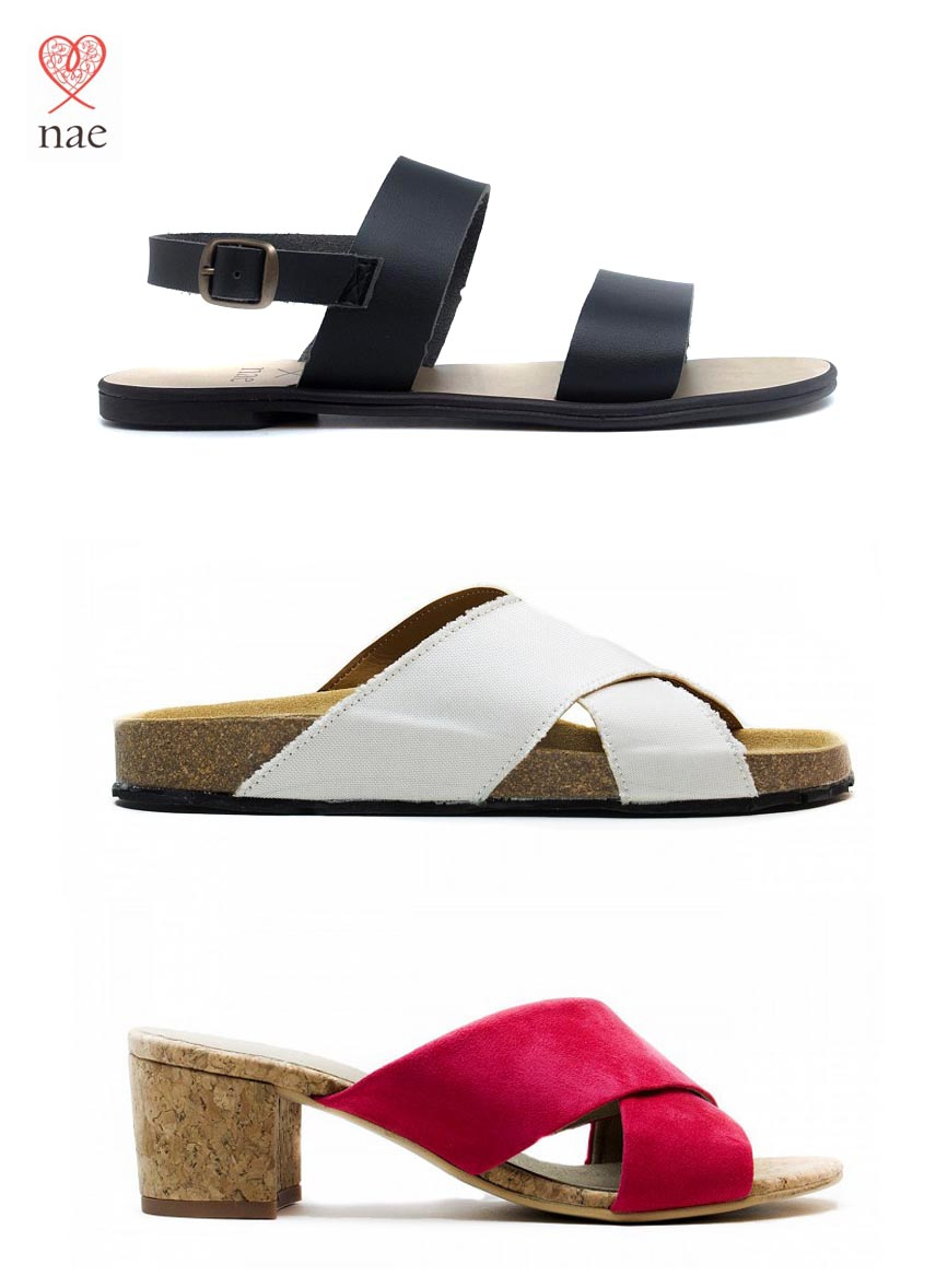 NEW! | Vegan sandals by NAE | Shop now!