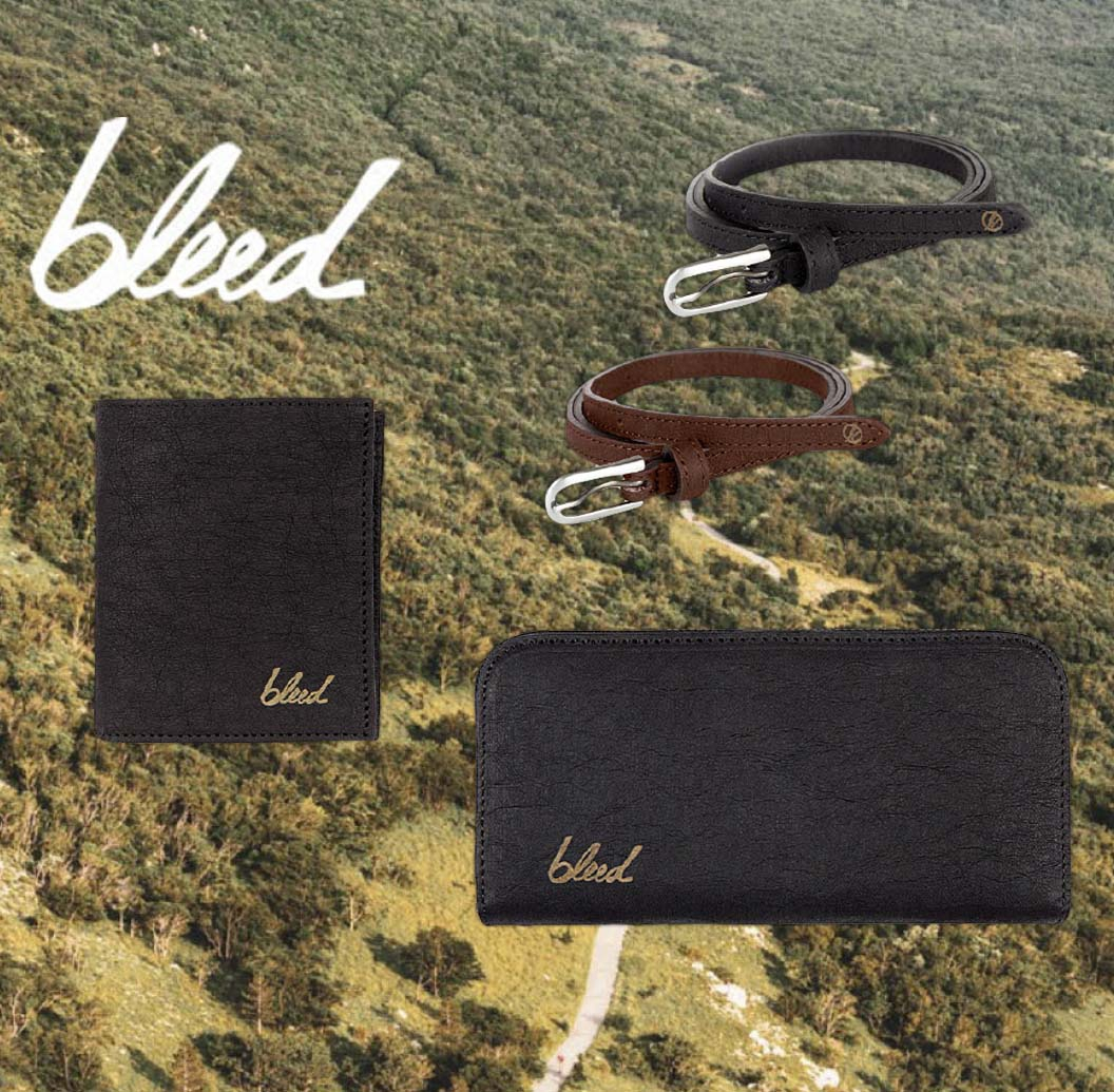 Vegan Jacroki Accessories | BLEED | Belts, wallets, purses | Shop online at avesu