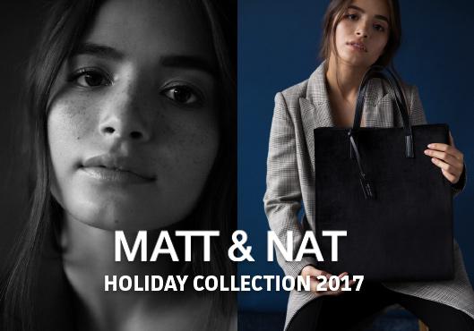 MATT & NAT Holiday Collection 2017 | Vegan Bags and Backpacks