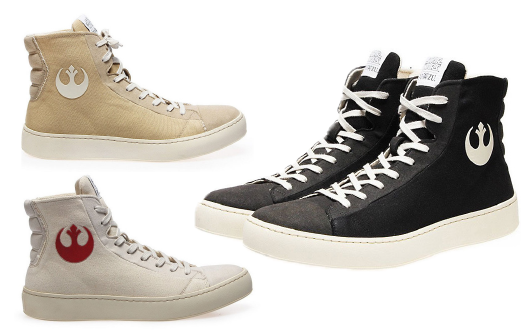 STAR WARS Collection by PO-ZU | Vegan Sneakers and Chewie Boots