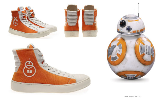STAR WARS BB-8 Sneakers | STAR WARS Shoes by PO-ZU