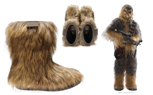 STAR WARS Wookie Boots | PO-ZU Chewie | Vegan Wookie Boot