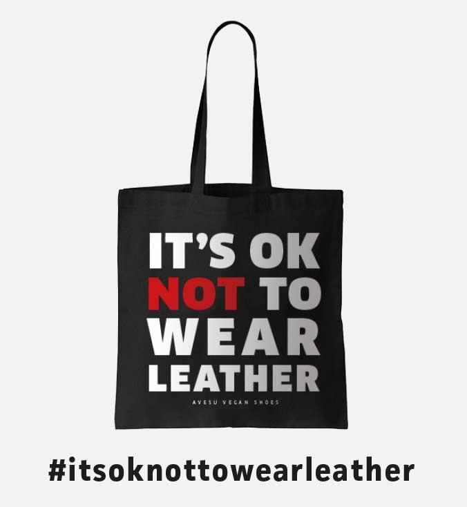 Vegane Tragetasche von AVESU   It's Ok Not To Wear Leather   Shop Online!